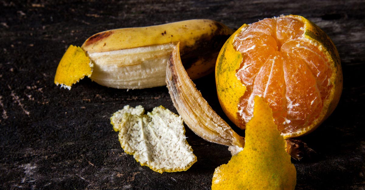 Why You Should Keep Your Orange and Banana Peels